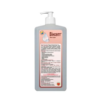 Винсепт 1л - антибактериальное жидкое мыло