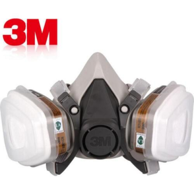 Полумаска респиратор 3М 6200+фильтры 3М 6001,респиратор 3М 6200 полный комплект