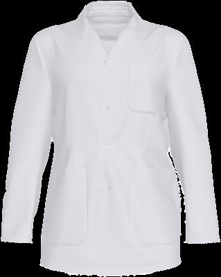 Медицинская рубашка мужская с длинным рукавом 2501 Белая