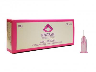 Игла для мезотерапии MESORAM 32G 0.23х12 mm