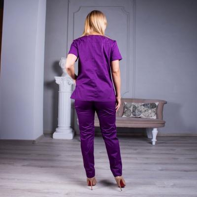 Медицинский костюм женский фиолетовый Avicenna