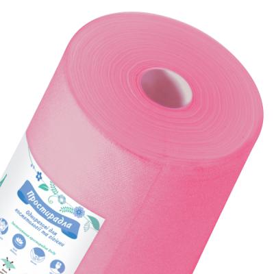 Простынь спанбонд Doily розовая 0.6х100п.м.