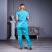 Медицинский костюм женский мятный Avicenna