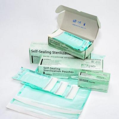 Самоклеющиеся пакеты для паровой и ЕО стерилизации