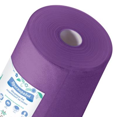 Простынь спанбонд Doily фиолетовая 0.6х100п.м.