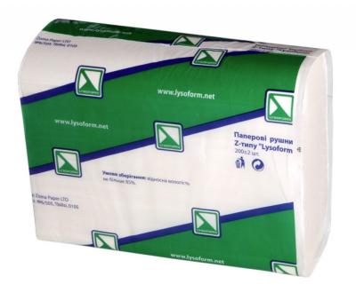 Полотенце бумажное Z-типа
