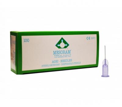 Игла для мезотерапии MESORAM 30G 0.3х13 mm