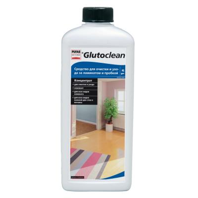Средство для очистки и ухода за ламинатом и пробкой Glutoclean 1л