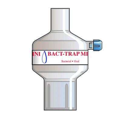 7055 Бактериовирусный дыхательный фильтр для малых дыхательных объемов Bact Trap Mini Port