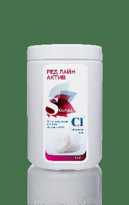 Хлорсодержащее дезинфицирующие средство RED LINE ACTIVE TABLETS