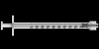 Шприц Луер-лок 1млл ТСК