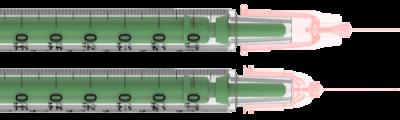 Шприц Луер-слип 1млл ТСК