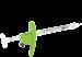 Шприц Луер лок ТСК 3Dose 33Gx13mm