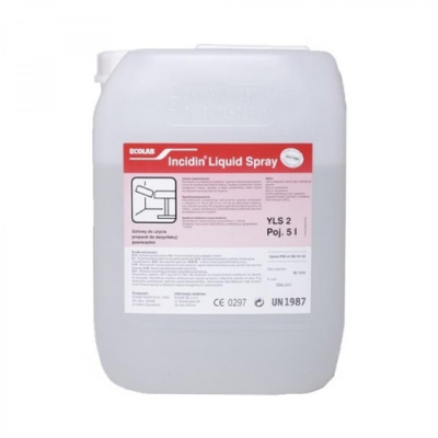 Инцидин Ликвид 5л для дезинфекции поверхностей