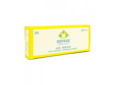 Игла для мезотерапии MESORAM 33G 0.20х4 mm