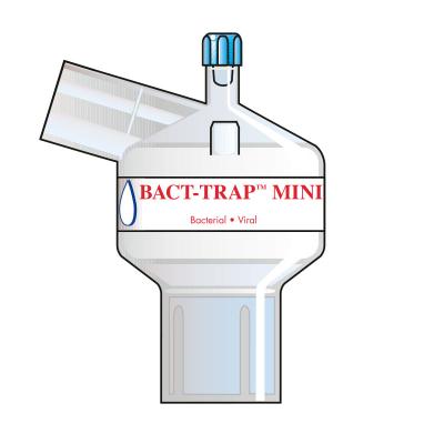 7061 Бактериовирусный дыхательный фильтр для малых дыхательных объемов Bact Trap Mini Port Angle