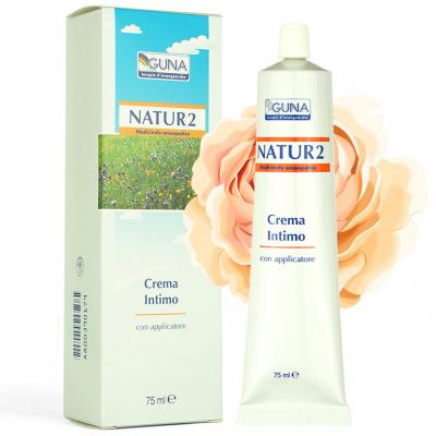 Natur 2 крем с эстрогенами, для интимной зоны