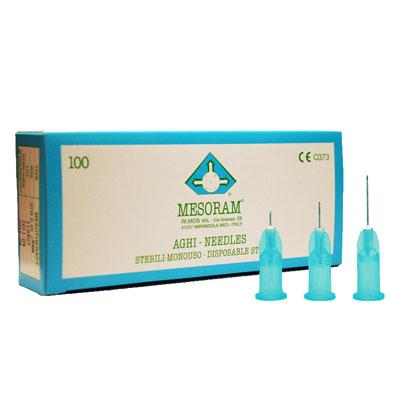 Игла для мезотерапии MESORAM 27G 0.40х6 mm