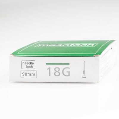 Игла для мезотерапии MesoTech 18G 38 mm