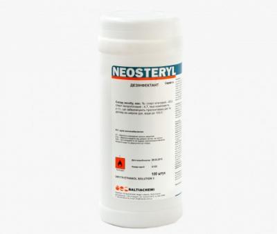 Неостерил дезинфицирующие салфетки 100шт