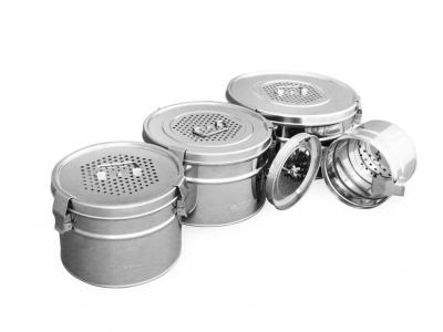 Коробка стерилизационная круглая с фильтрами КСКФ-3-«Ока-Медик»