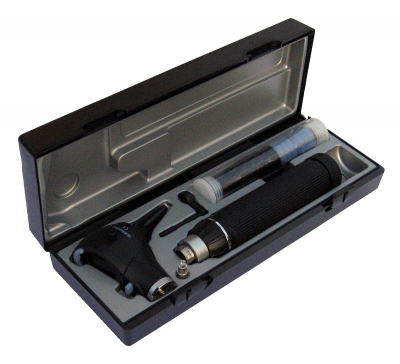 Набор отоларинголога ri-scope® L3 LED 3,5 В, С-ручка для 2 литиевых батареек