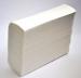 Полотенца бумажные белые двухслойные, Z-складка