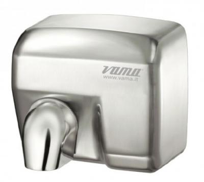 Сушилка для рук нержавеющая сталь матовая VAMA ARIEL SF 2400 Вт