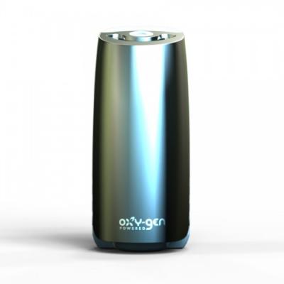 Диспенсер VIVA E! Steel Gray, стальной серый пластик