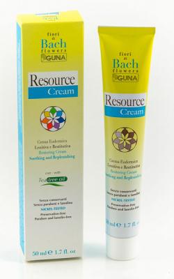 Resource Cream крем с Цветами Баха для успокоения и защиты кожи от стресса