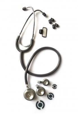 Стетоскоп  tristar®, серый, 3 головки
