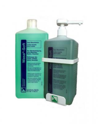 Ваза софт (WASA-SOFT) антибактериальное мыло для кожи